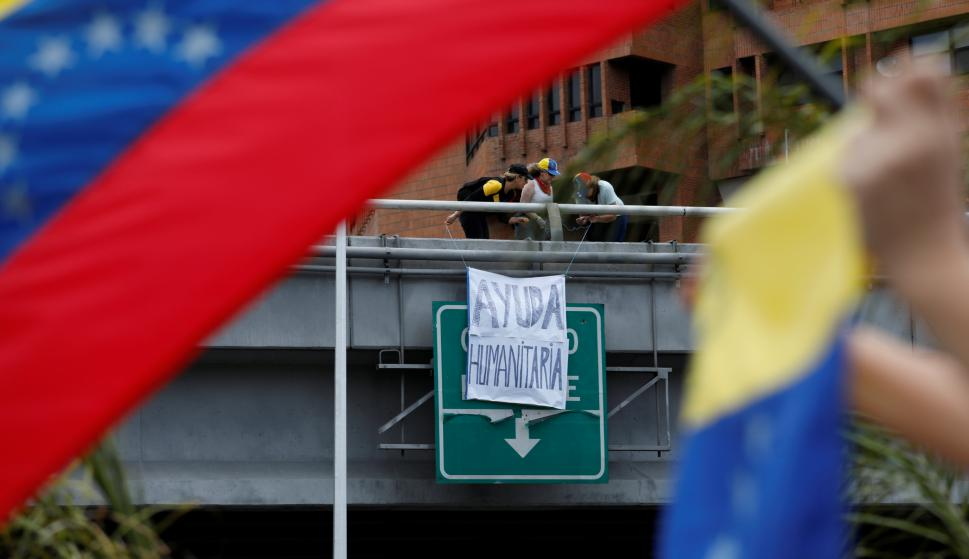 """El 7 de febrero un conjunto de países buscará """"sentar las bases"""" para un diálogo que permita superar la larga y grave crisis venezolana. Foto: Reuters"""