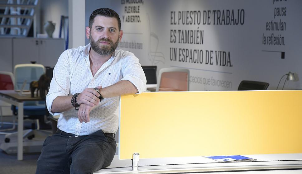 """Aliskevich. Asegura que 2018 es como """"un nuevo comienzo de la empresa"""". (Foto: Leonardo Mainé)"""
