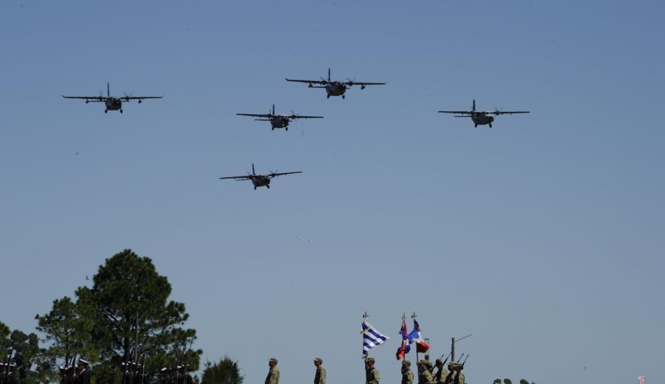 Asume hoy Marenco en la Fuerza Aérea