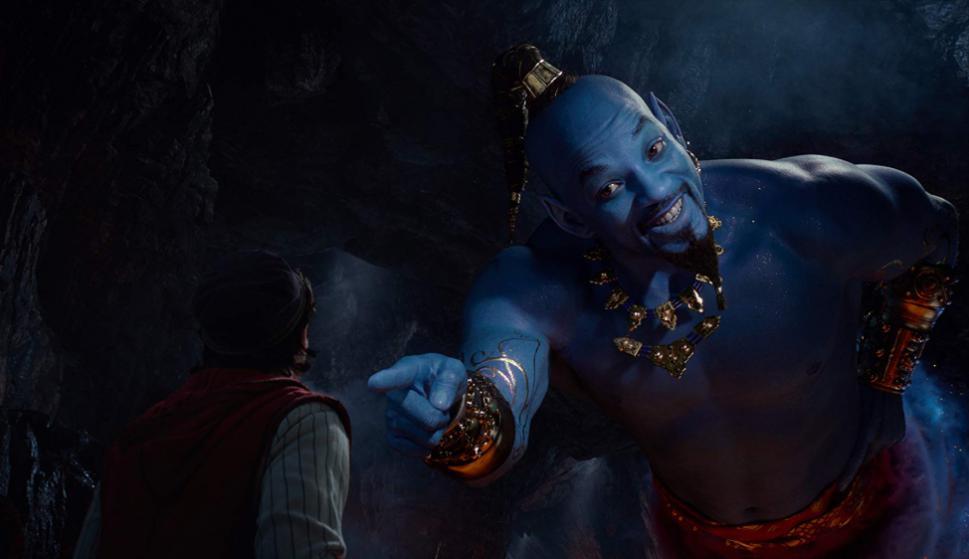 "Will Smith en ""Aladdín"". Foto: Disney"