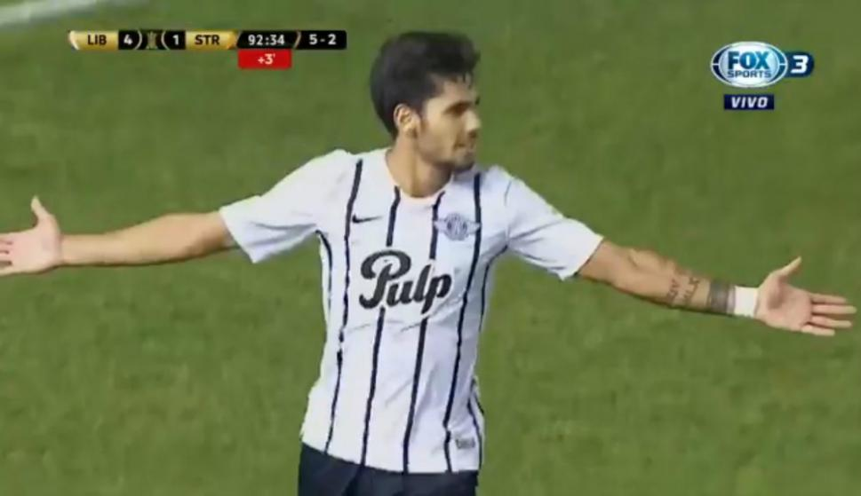 Ayrton Cougo celebra su golazo ante The Strongest. Ver video 582a83898816f