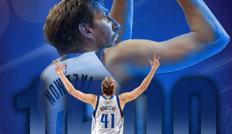 Dirk Nowitzki llegó a 1.500 partidos en la NBA y recibió una distinción  especial. Ver 30ba92ca899