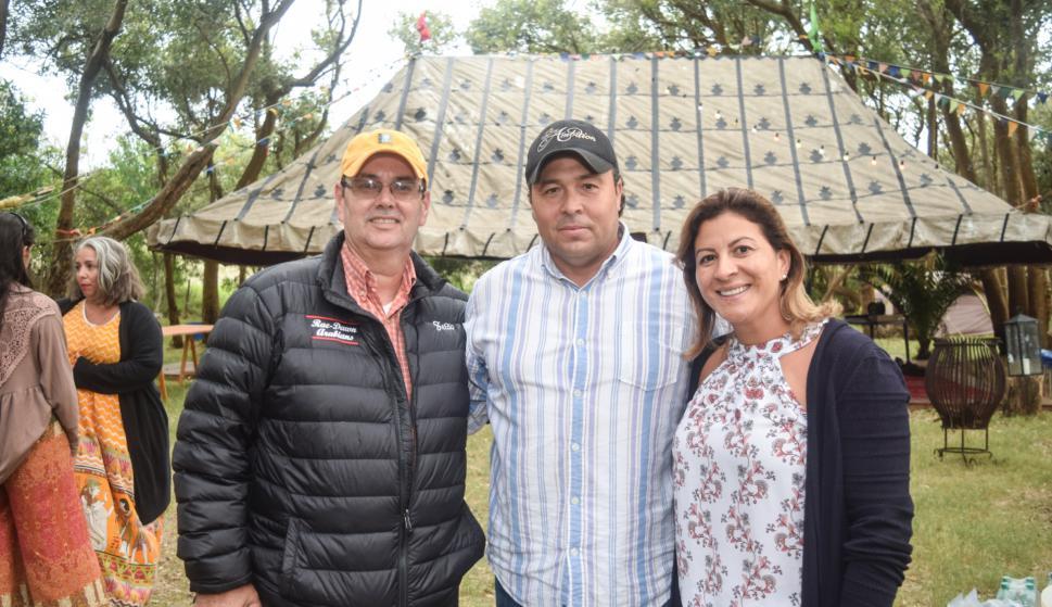 Zetao Rodrigues, Dejair Souza, Solange Souza.