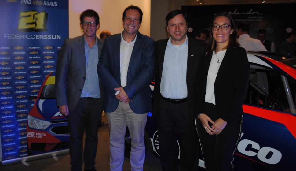 Felipe klimas, Enrique De Martini, Claudio D'Agostini, María José Muller.