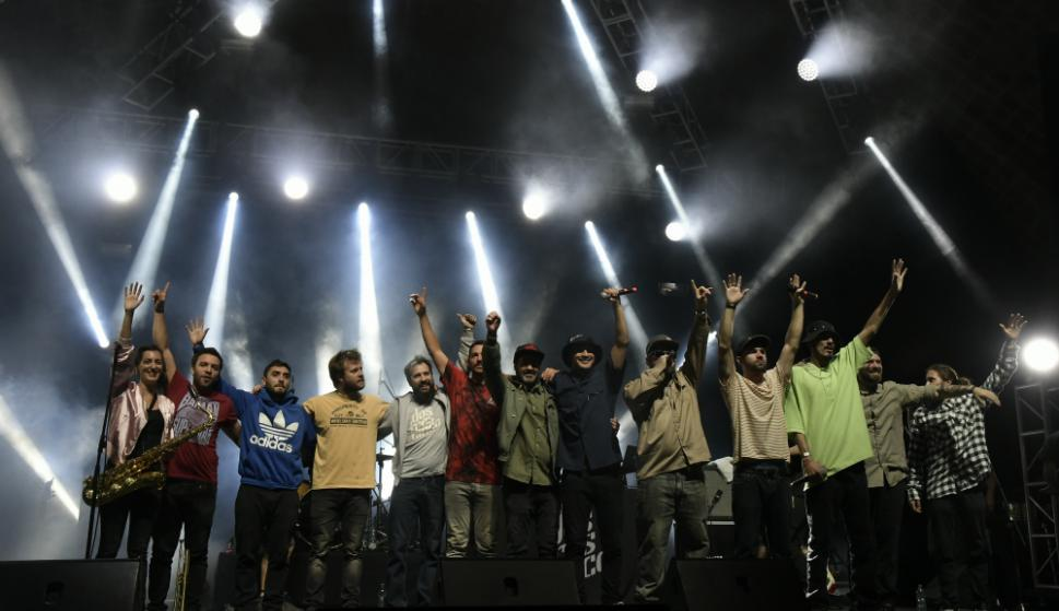 Los Dostrescinco dieron un gran show. Foto: Nicolás Pereyra