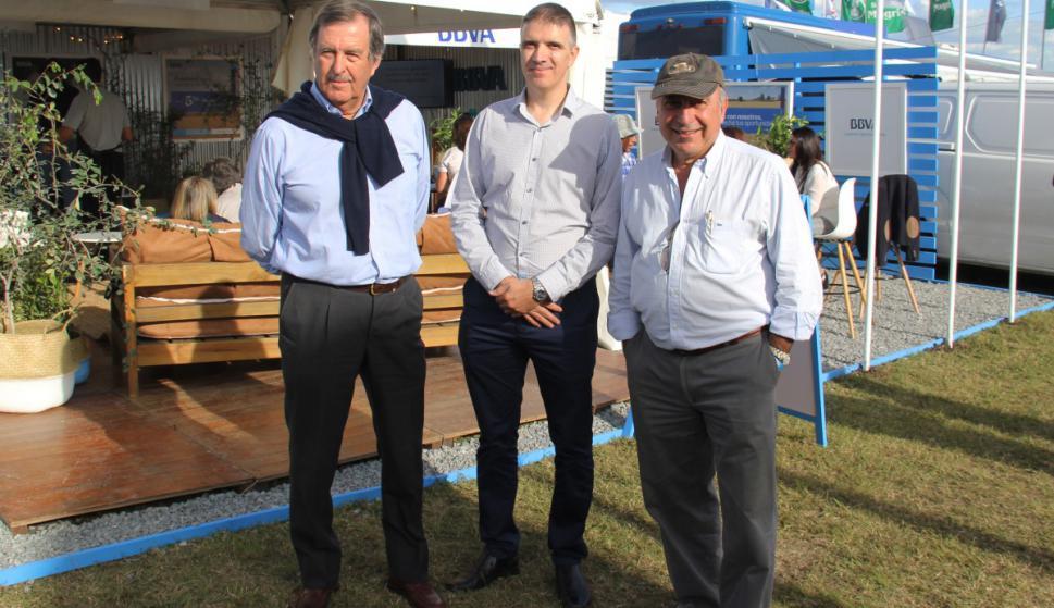 Bertrand Gruss, Gonzalo Gutiérrez, Juan Roca.