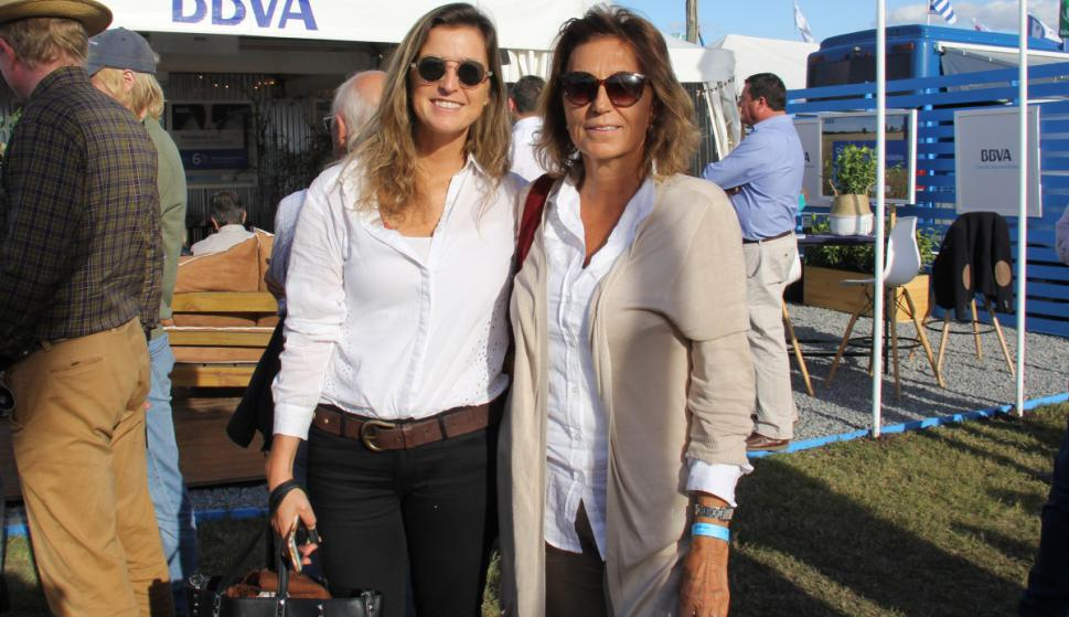 Macarena Ortiz, Patricia Fernández.