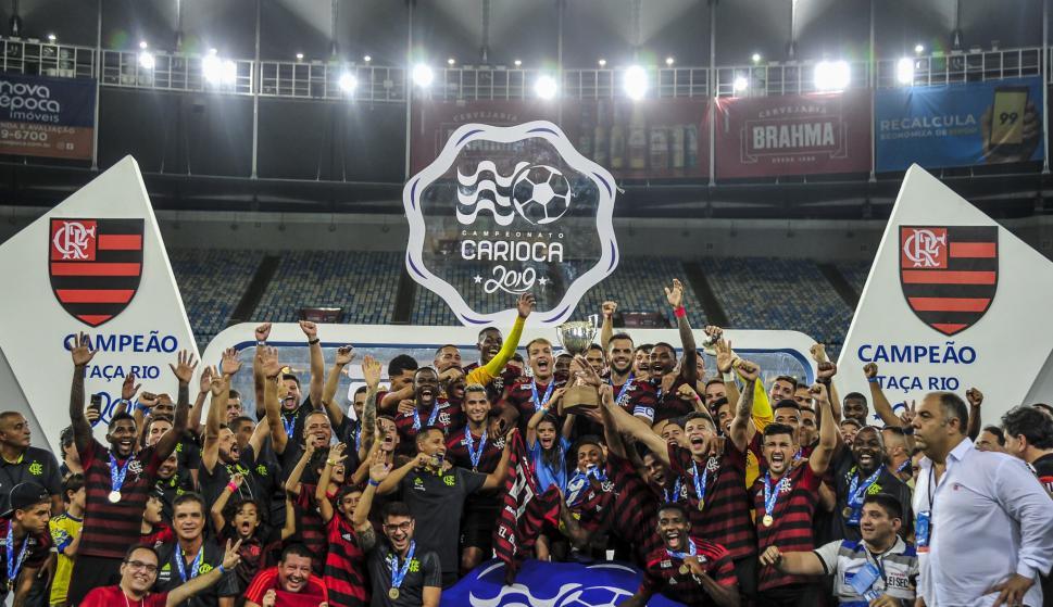 Flamengo campeón de la Copa Río del Campeonato Carioca. Foto: Flamengo.