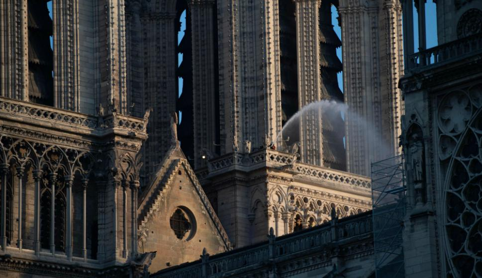 Catedral Notre Dame. Foto: AFP