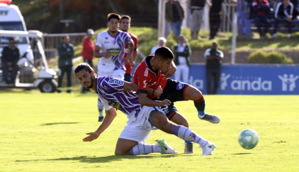 Joaquín Varela y Santiago Rodríguez en el Fénix vs. Nacional