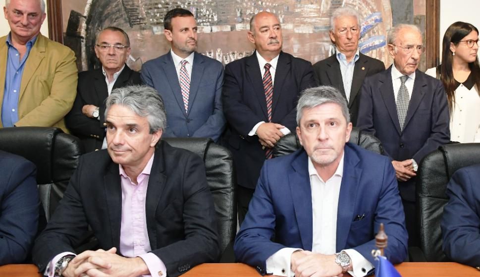 José Decurnex y Alejandro Balbi