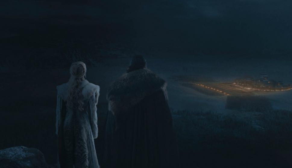 Imágenes del tercer episodio de la octava temporada de Game of Thrones. Foto: Difusión