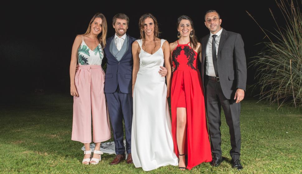 Carolina Roses, Marcos Sarni, Valentina Vernassa, Fernanda Martínez, Pablo Tarrech.