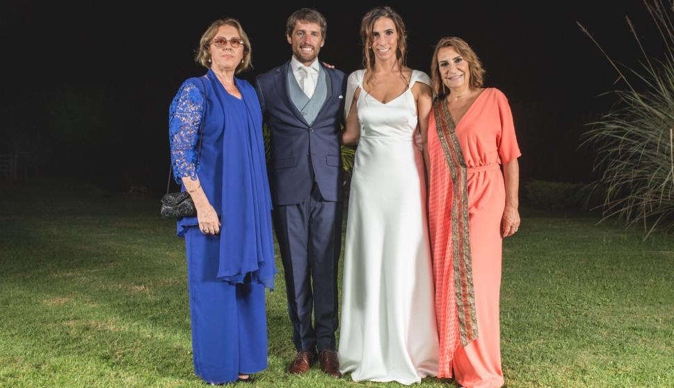 Estela Ferreira, Marcos Sarni, Valentina Vernassa, Beatriz Ventura.