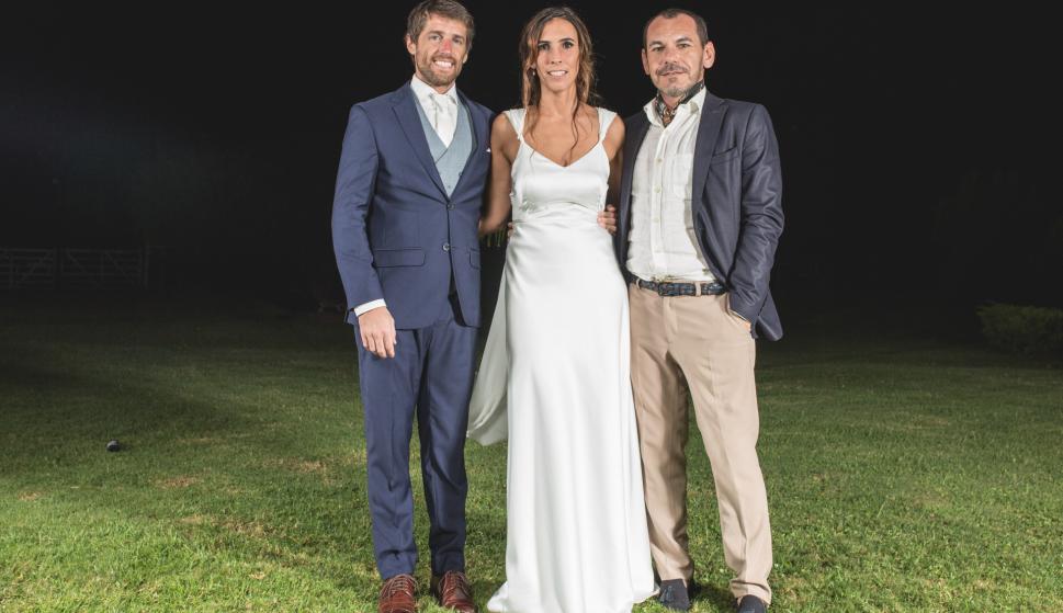 Marcos Sarni, Valentina Vernassa, Daniel Ortega.