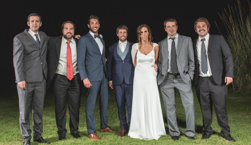 Ramiro Cuneo, Francisco García, Fernando Campos, Marcos Sarni, Valentina Vernassa, Sebastián Tassino.