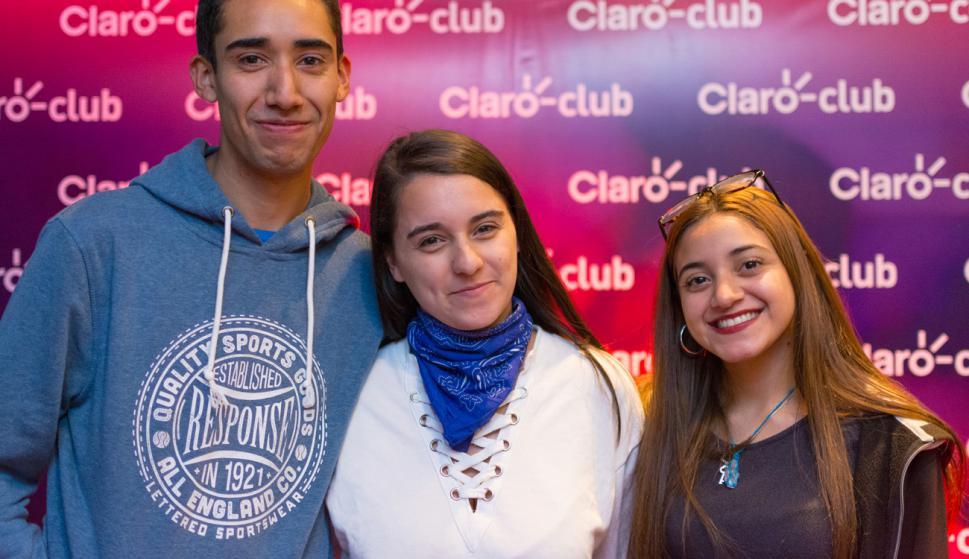 Federico Cardozo, Ailen Souto, Valentina Cardozo.