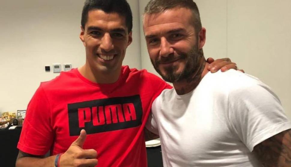 David Beckham quiere tentar a Luis Suárez