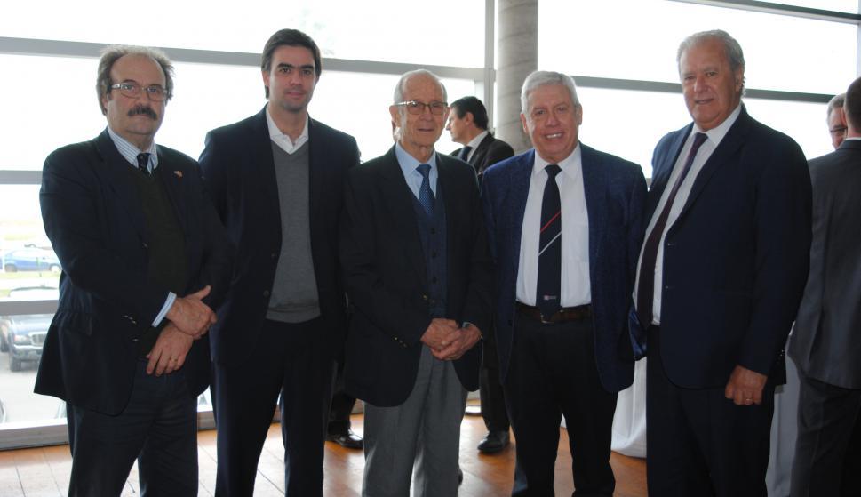 Alfredo Ferriolo, Matías Ferrari, Ricardo Zerbino, Santiago Pereira, Pablo Benia.