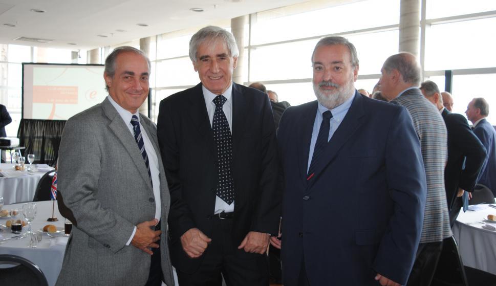 Gonzalo Aguiar, Marcelino Misa, Eduardo Cuñarro.