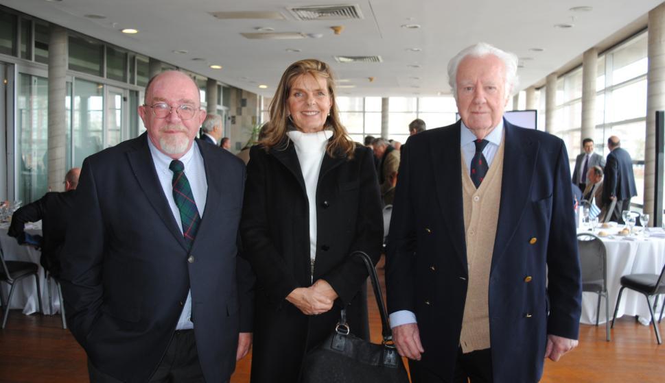 Tomás Linn, Sandra Maquirriain, Malcolm MacCormack.