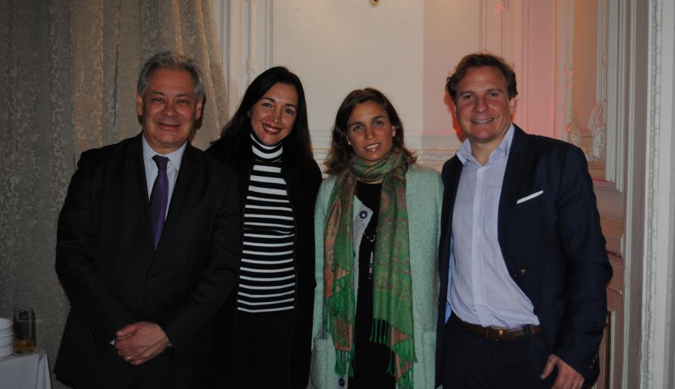 Germán Ríos, Evelyn Fuentes, Lorena Garin, Joaquín Morixe.