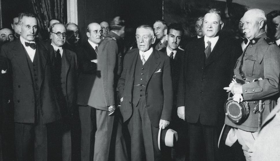Juan Campisteguy, presidente entre 1927 y 1931 . Foto: Archivo El País