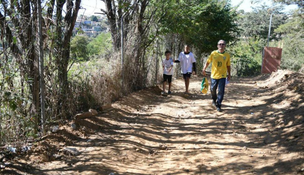 Entrenamiento de Uruguay en Belo Horizonte