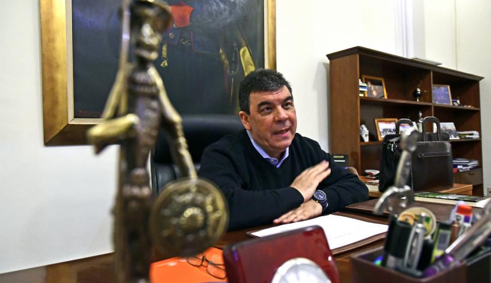 Mario Layera, director nacional de Policía. Foto: Fernando Ponzetto