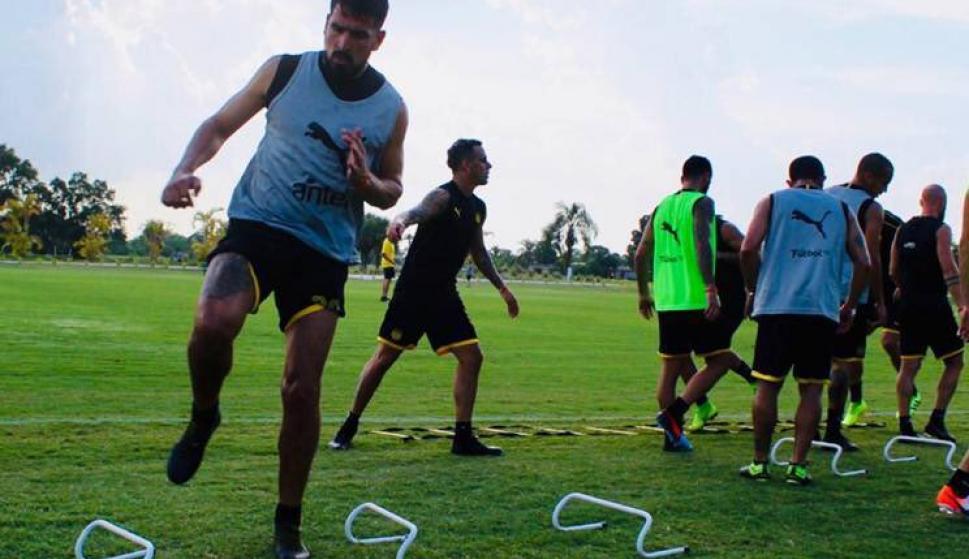 La pretemporada de Peñarol en Estados Unidos. Foto: Prensa Peñarol.