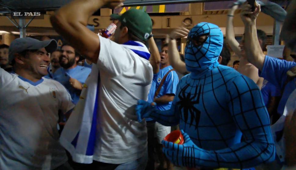 El  número 24: Spiderman en la euforia celeste de Maracaná