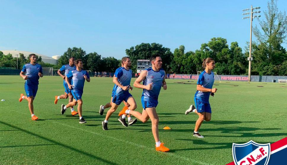 Nacional entrena en Miami y siguen buscando jugadores: en carpeta un 10 argentino