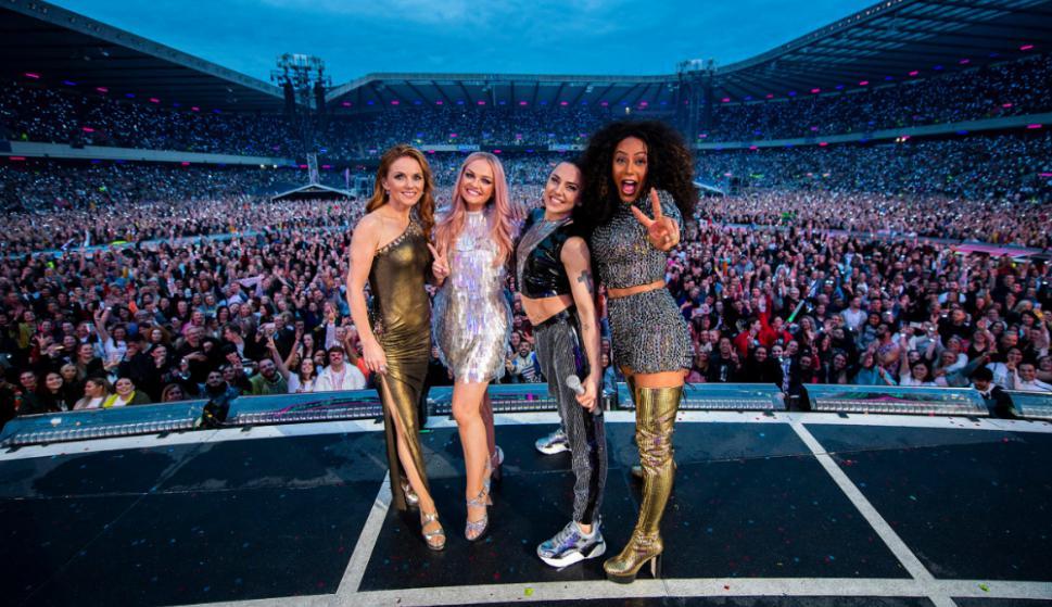 Las Spice Girls en su regreso
