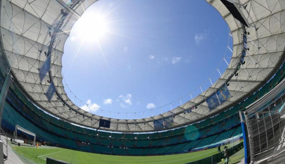 El Arena Fonte nova espera por Uruguay y Perú