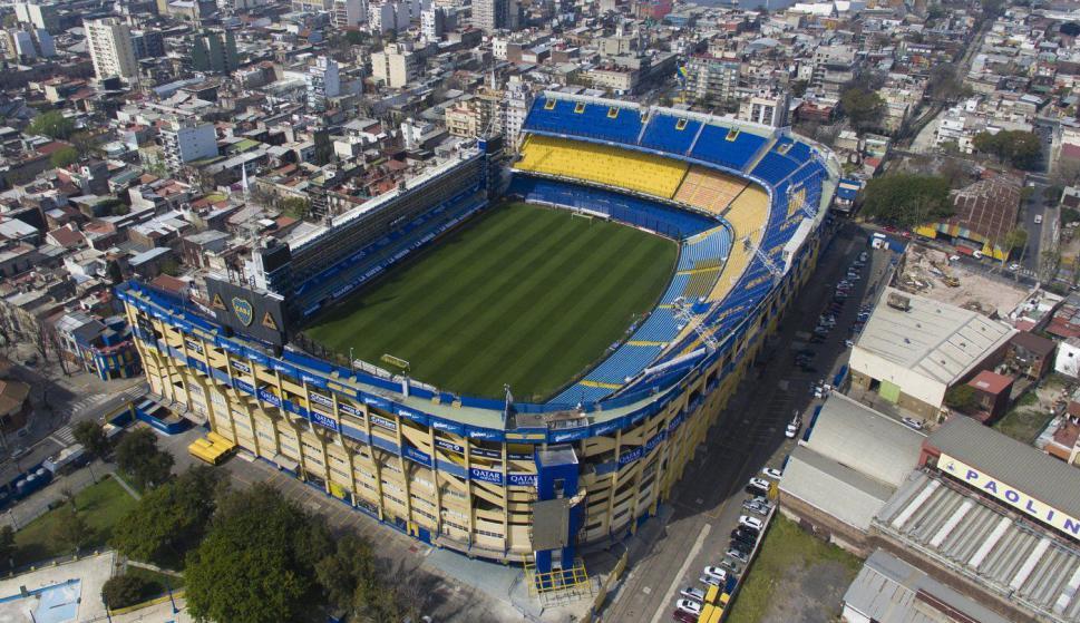 La Bombonera (Buenos Aires) - 49.000 espectadores