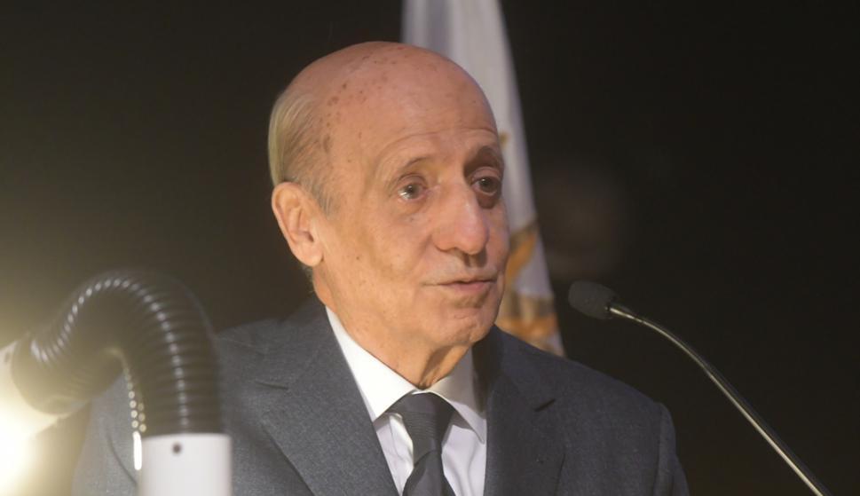 Entrega del Pabellón Nacional a la delegación uruguaya de los Juegos Panamericanos. Foto: Francisco Flores.