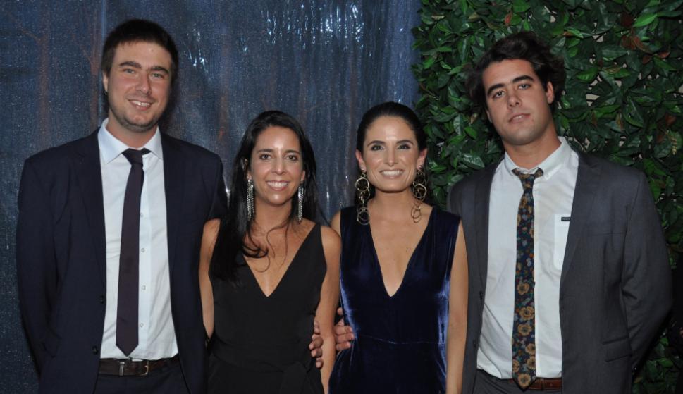 Agustín Payovich, Romina Belderain, Mercedes Inciarte, Joaquín Boix.