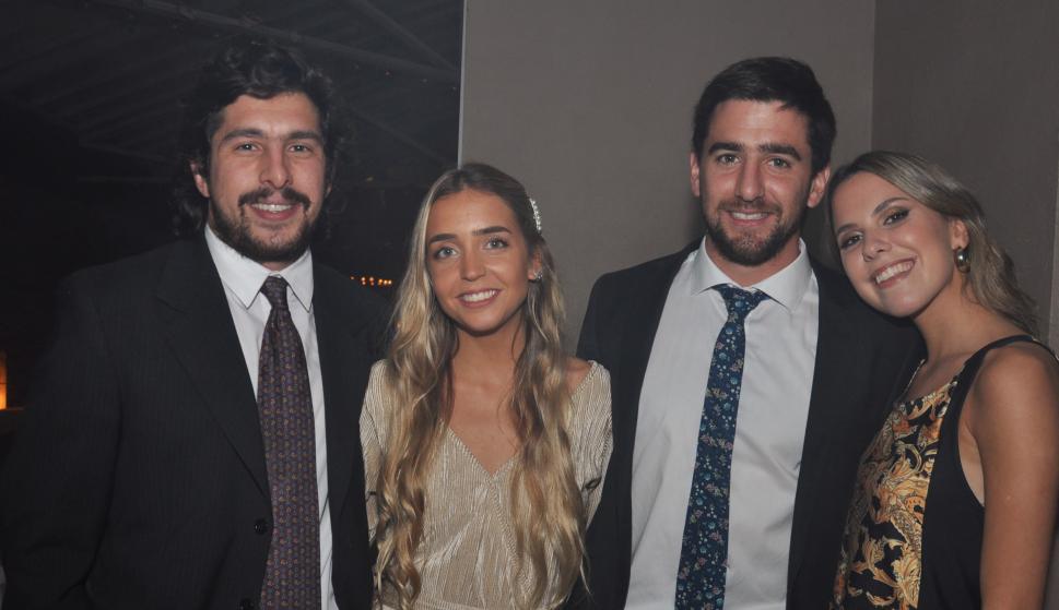Francisco Cea, Sofía Buysan, Juan Pablo Bordaberry, Sofía Gatto.