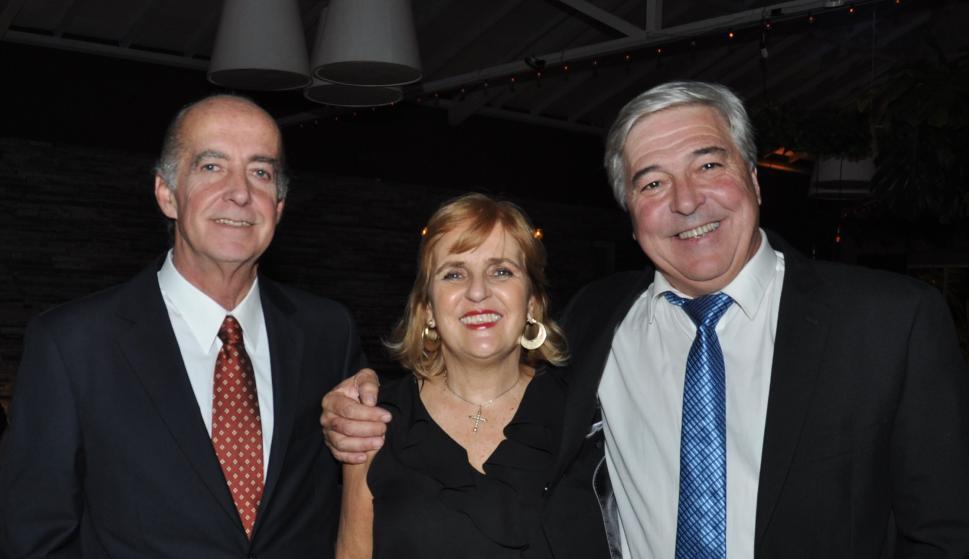 José Boix, Beatriz Echevarren, Charles Wiedemann.