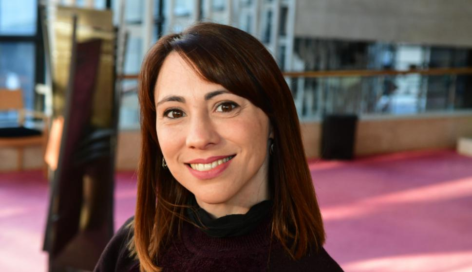 Marina Sánchez, coreógrafa y maestra del Ballet del Sodre