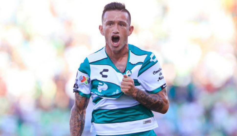 Gol de Brian Lozano para la victoria de Santos Laguna