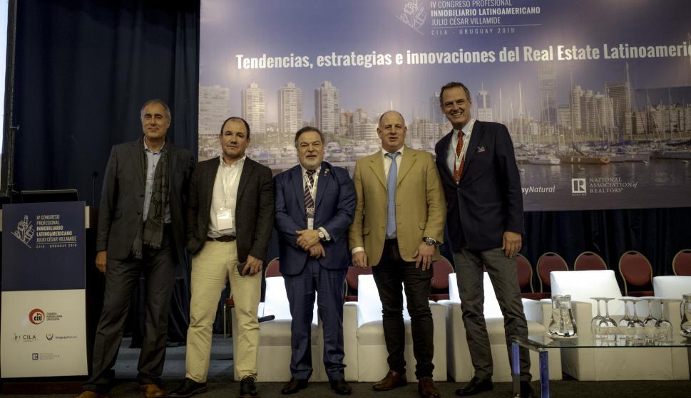 Juan Roisecco, Gabriel Verdún, Wilder Ananikian, Javier Figueroa, León Peyrou.