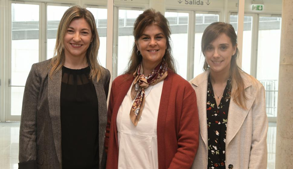 Carolina Aldao, Paula Barsantini, Gabriela Barbeito.