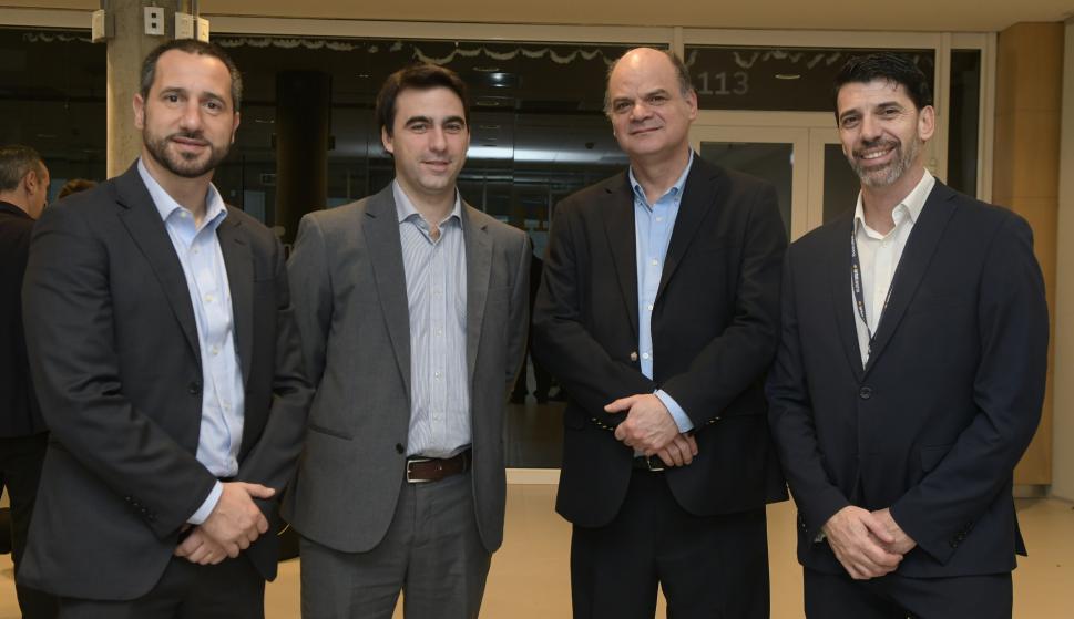 Javier Emicuri, Gonzalo Ferrando, Andrés Tolosa, Marcelo Abreu.