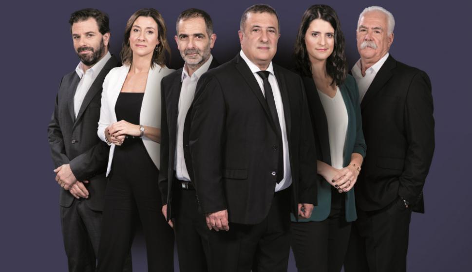 El equipo de Séptimo día, periodístico de La Tele que mañana estrena su primer programa. Foto: Difusión