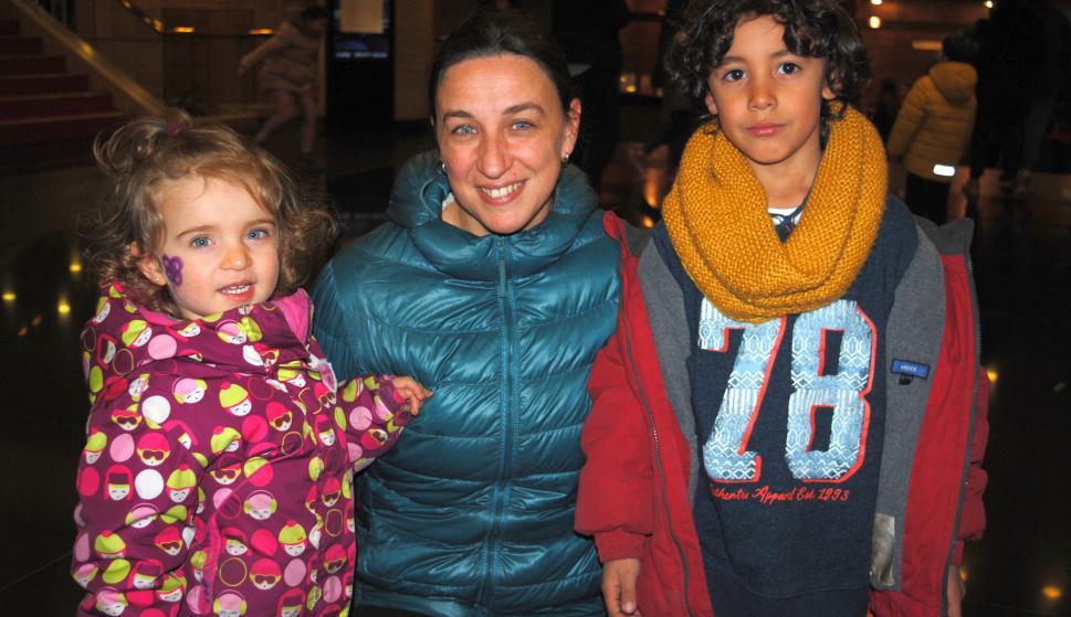 Amanda Dossena, Sofia Sunhary, Ignacio Medina.