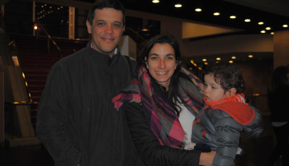 Guzmán guarino, Melissa Vezzoso, Emiliano Guarino.