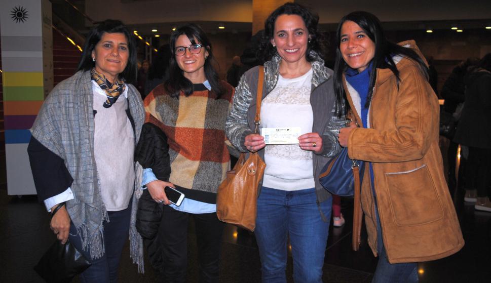 Rossana Chaiappara, Coara Olascuaga, Carla Casciani, Natalia Canto.