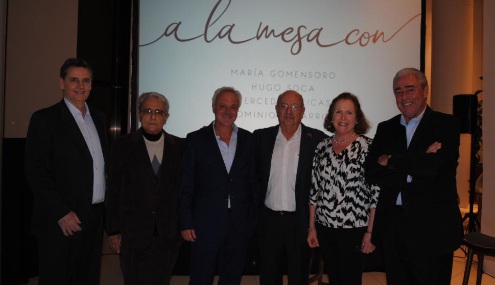 Camilo Preve, Mario Medici, Daniel González, Luis Motta, Laura De Castellet, Jorge Jourdan.