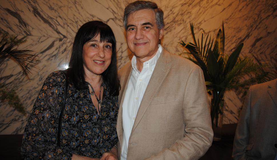 Cristina Queijeiro, José Pedro Derregibus.